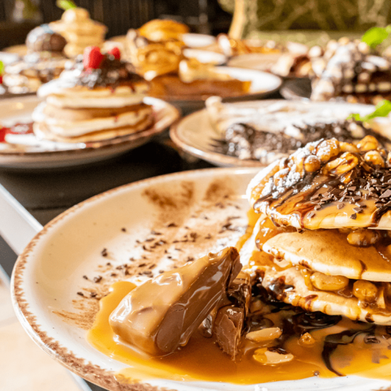 Snickers Pancake