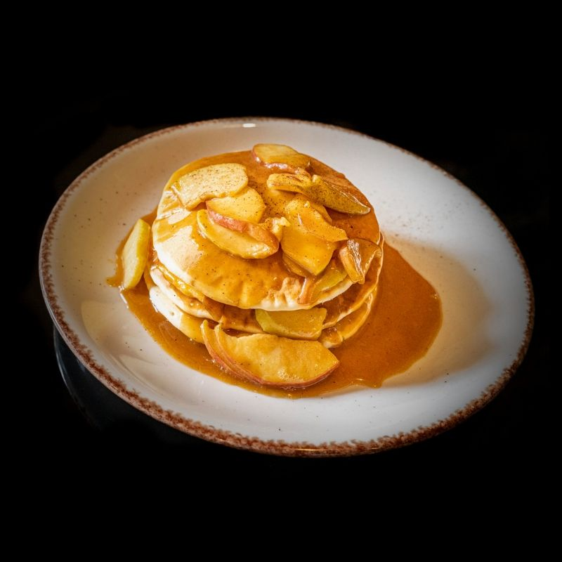 Apple Pancakes la Madame B